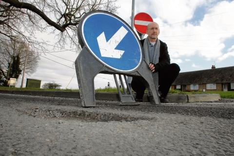 Witham: Councillor slams pothole priorities