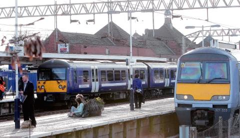 Braintree and Witham Times: Rail disruption after person hit by train