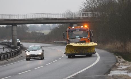 Gritters kept the county moving