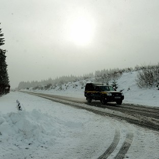 Travel disruption as winter returns