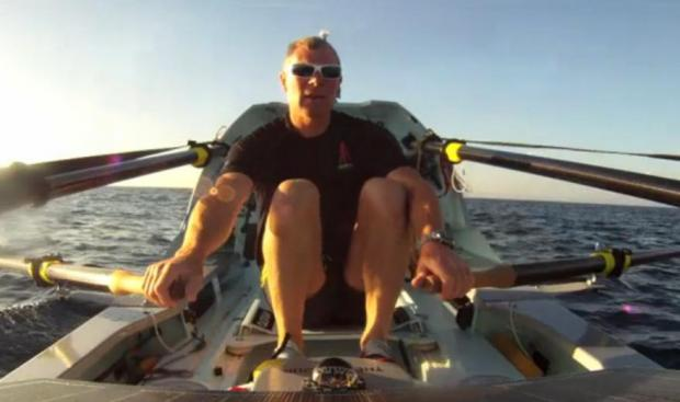 Braintree: Solo rower Charlie Pitcher on verge of world record