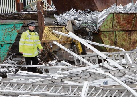 Witham: Scrap yards subject to police spot checks