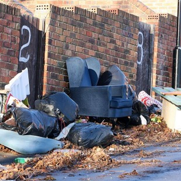 The Sentencing Council unveiled tougher penalties for fly-tippers