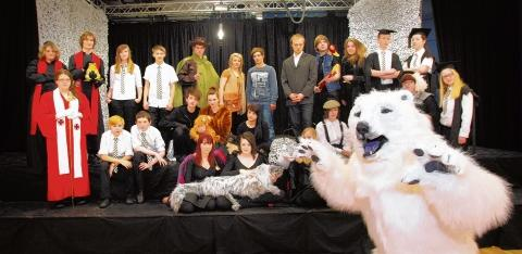 Witham: Students take on fantasy trilogy play