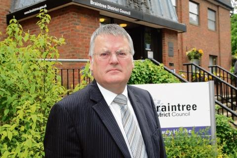 Braintree and Witham Times: Council leader Graham Butland supports the proposals