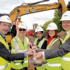 MP Priti Patel and councillors were among those invited to the soil cutting ceremony for Witham Leisure Centre