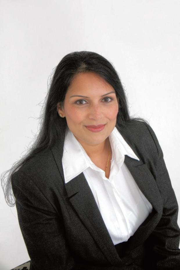 Braintree and Witham Times: Priti Patel