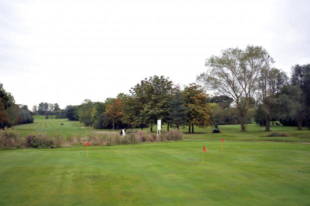 Braintree and Witham Times: Basildon golf course