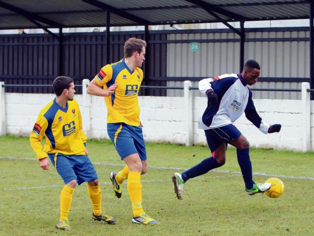 Danny's goal ensures unbeaten home run goes on for Witham