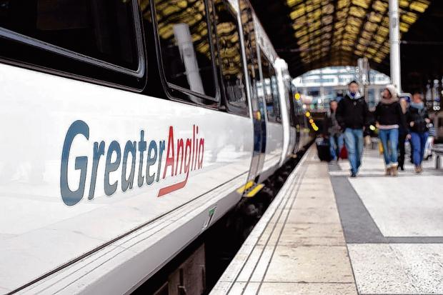 Greater Anglia trains delayed after person hit by train
