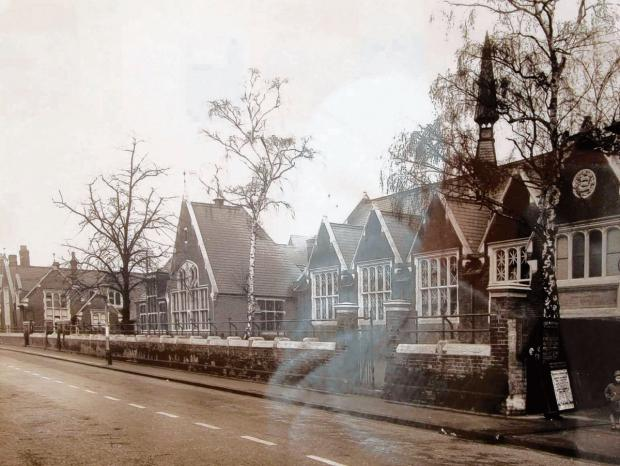The Manor Street Museum when it was a School