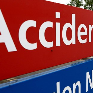 Accident and Emergency departments are facing 'intolerable pressures', according to a report