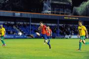 Charlie Strutton has scored three goals in Braintree's last two games. Picture: ALAN STUCKEY