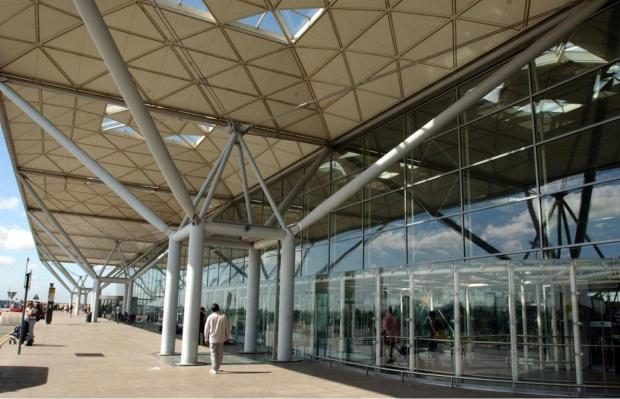 Man arrested on suspicion of terrorism at Stansted Airport