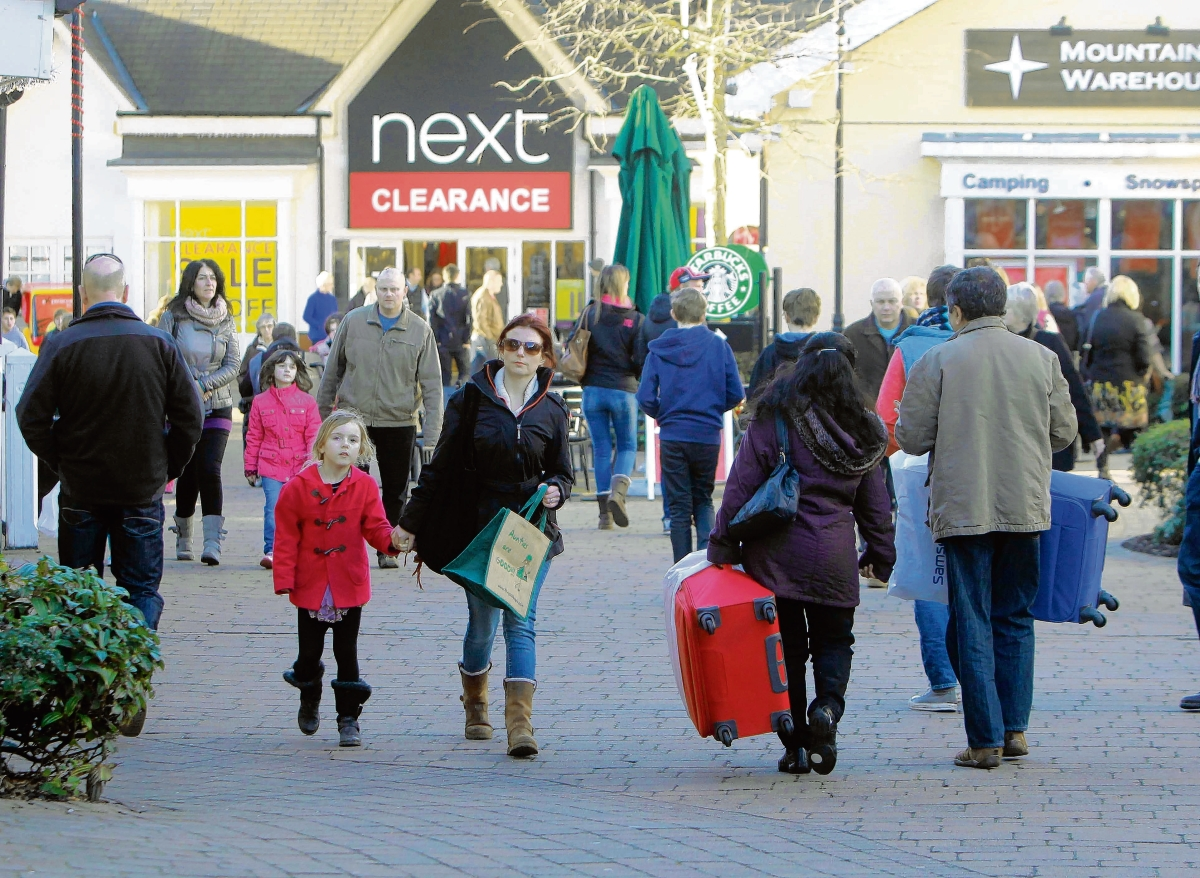 Retailers report surge of shoppers hunting for sale bargains