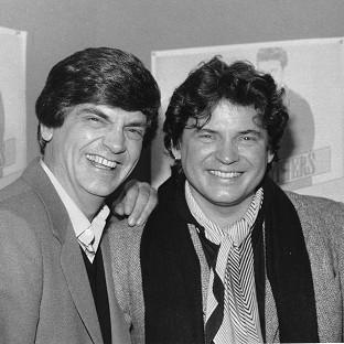 Phil Everly, left, and his brother Don, were huge stars