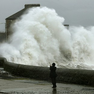 Flood warnings amid heavy rain