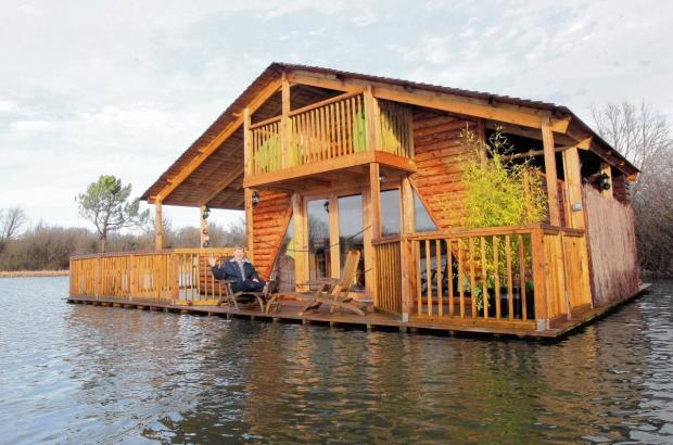 The Raft, a secluded holiday cabin in Heybridge, is one of the secrets of the Blackwater estuary