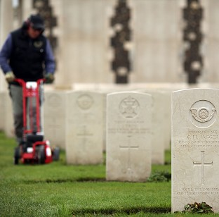 The Tyne Cot Cemetery and Memorial in Ypres, Belgium, as the Commonwealth War Graves Commission prepares for the centenary of the outbreak of the First World War