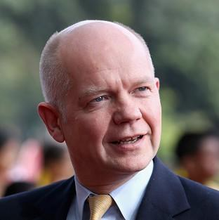Foreign Secretary William Hague has warned that giving individual parliaments the right to veto laws would und