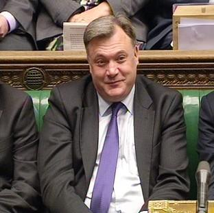 "Braintree and Witham Times: David Cameron says Labour ""hid"" shadow chancellor Ed Balls during Prime Minister's Questions"