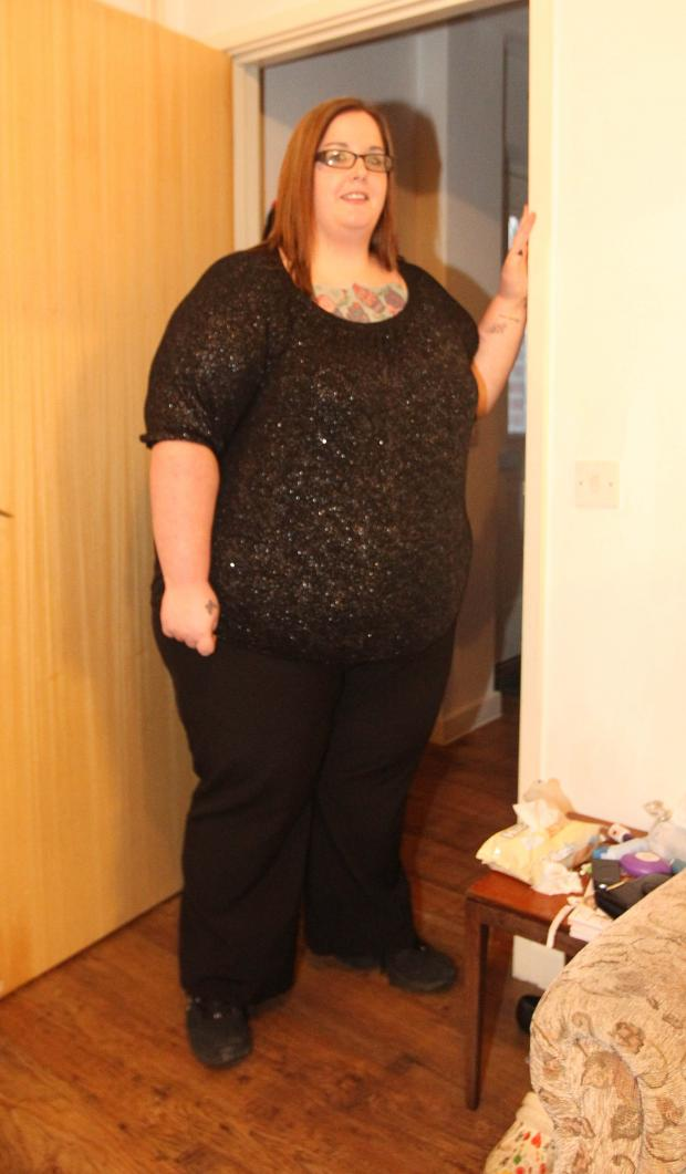 Braintree and Witham Times: 27-stone mum claims NHS won't help ger lose weight
