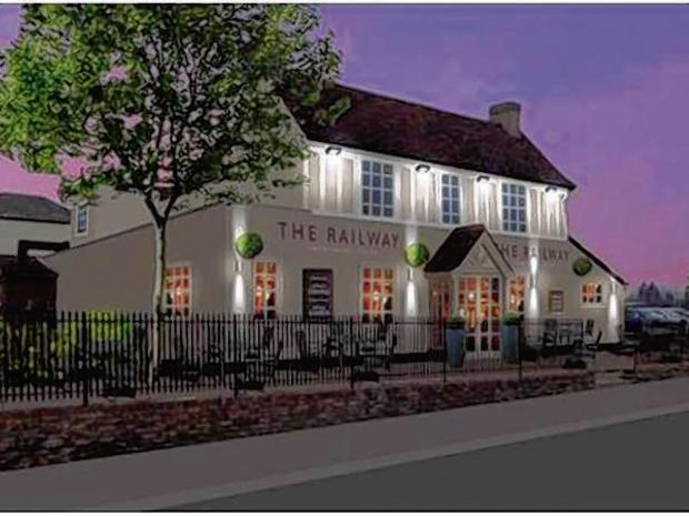 Re-opening of fire damaged pub delayed