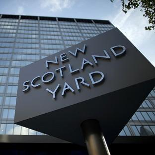 Scotland Yard says a 21-year-old man has been arrested on suspicion of being involved in the commission, preparation and instigation of terrorism offence