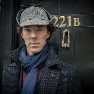 Braintree and Witham Times: Benedict Cumberbatch as Sherlock Holmes
