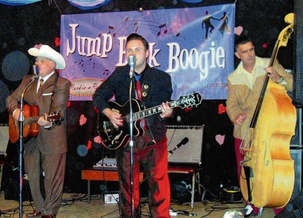 Dance the night away with the The Doggone Honkabilly Band
