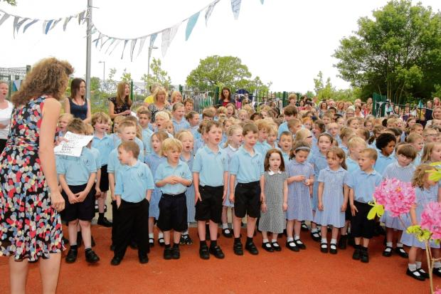 Chipping Hill Primary School opened at a new site in Owers Road in 2012