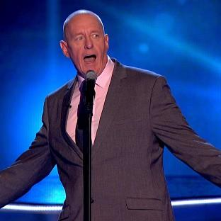 Bob Blakeley failed to find a mentor on The Voice (BBC/PA)