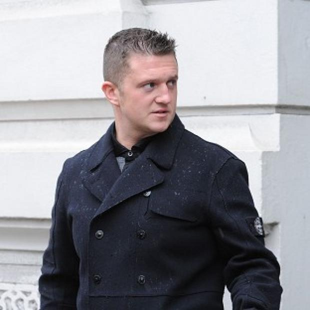 Braintree and Witham Times: Tommy Robinson, founder of the EDL, has been jailed for defrauding the Abbey and Halifax banks