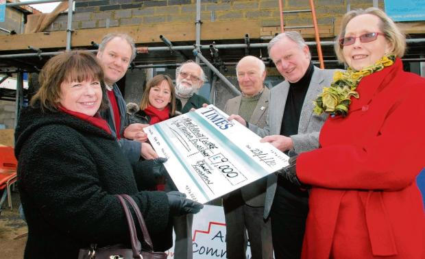 BWT gives community centre £9K kitchen