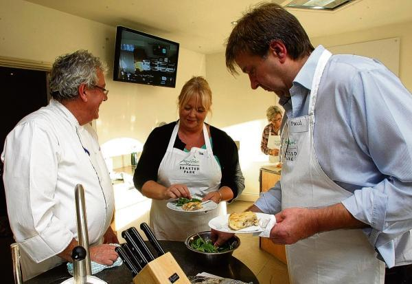 Braintree and Witham Times: The cookery school at Braxted Park