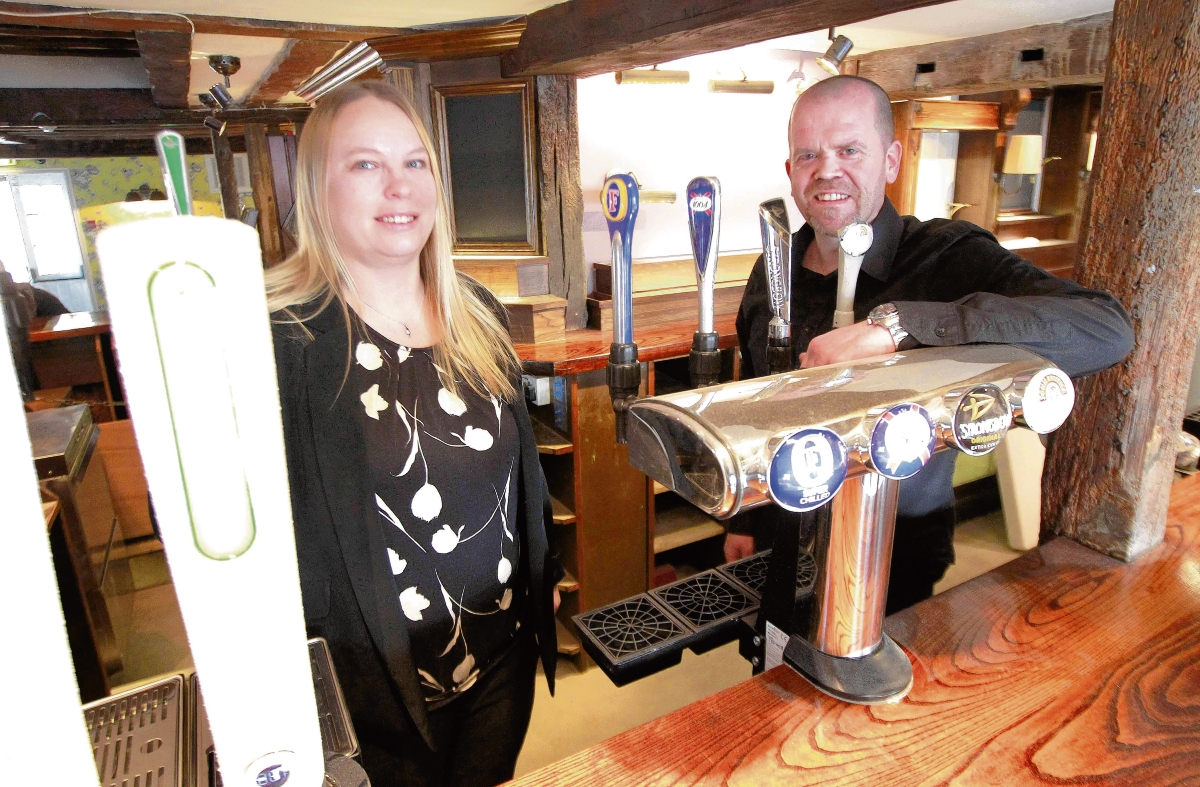 Fire-hit pub reopens under new name and management