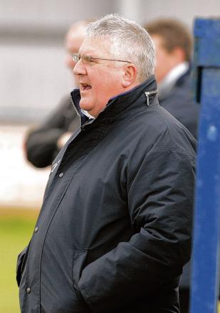 Witham Town chairman Tony Last