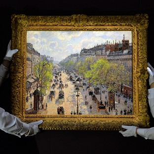 Camille Pissaro's Boulevard Monmartre, Matinee De Printemps sold for almost �20 million