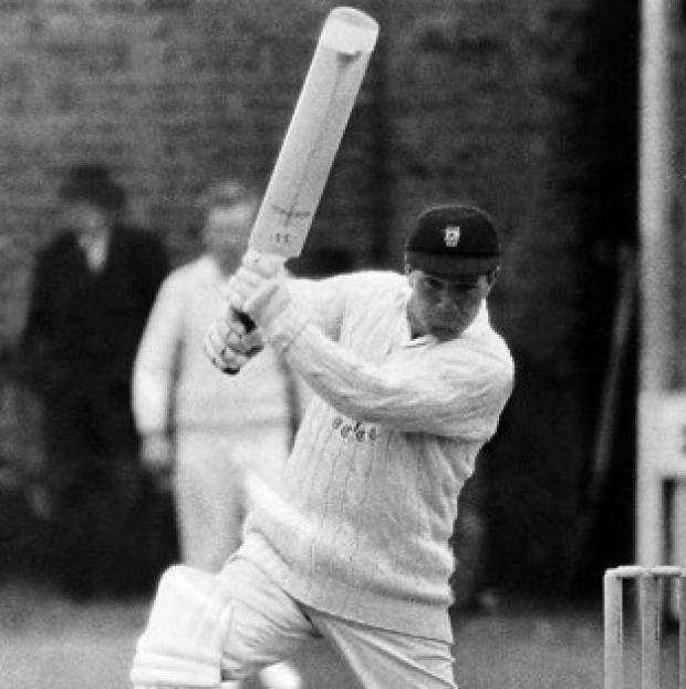 Braintree and Witham Times: Glamorgan batsman Bernard Hedges had an 18-year career in first-class cricket