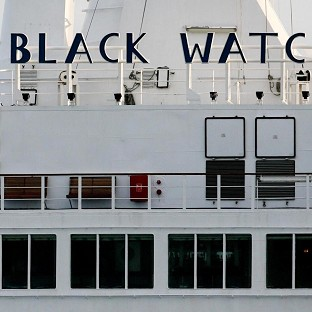 The Black Watch cruise liner has been forced to dock off Chile because of mechanical problems