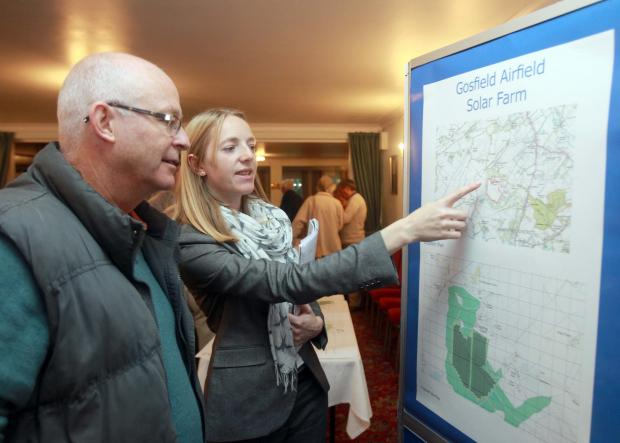 Braintree and Witham Times: Residents attended a public meeting on the plans in October