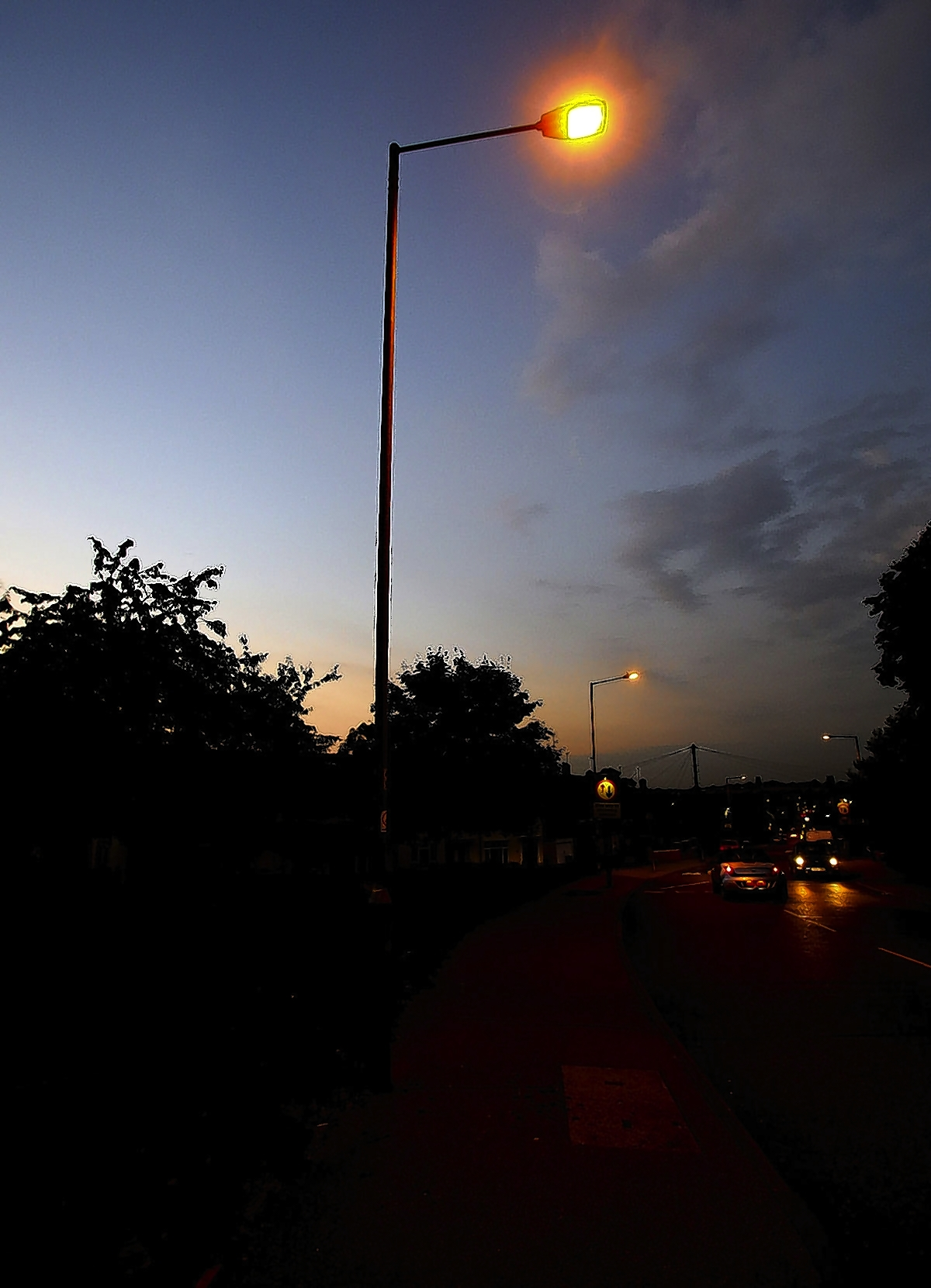 Sixteen complaints lodged about street lighting in a month