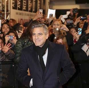 Actor George Clooney wrote, directed and stars in the Second World War film The Monuments Men