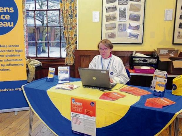 Braintree and Witham Times: Volunteer Jane Casement at the event