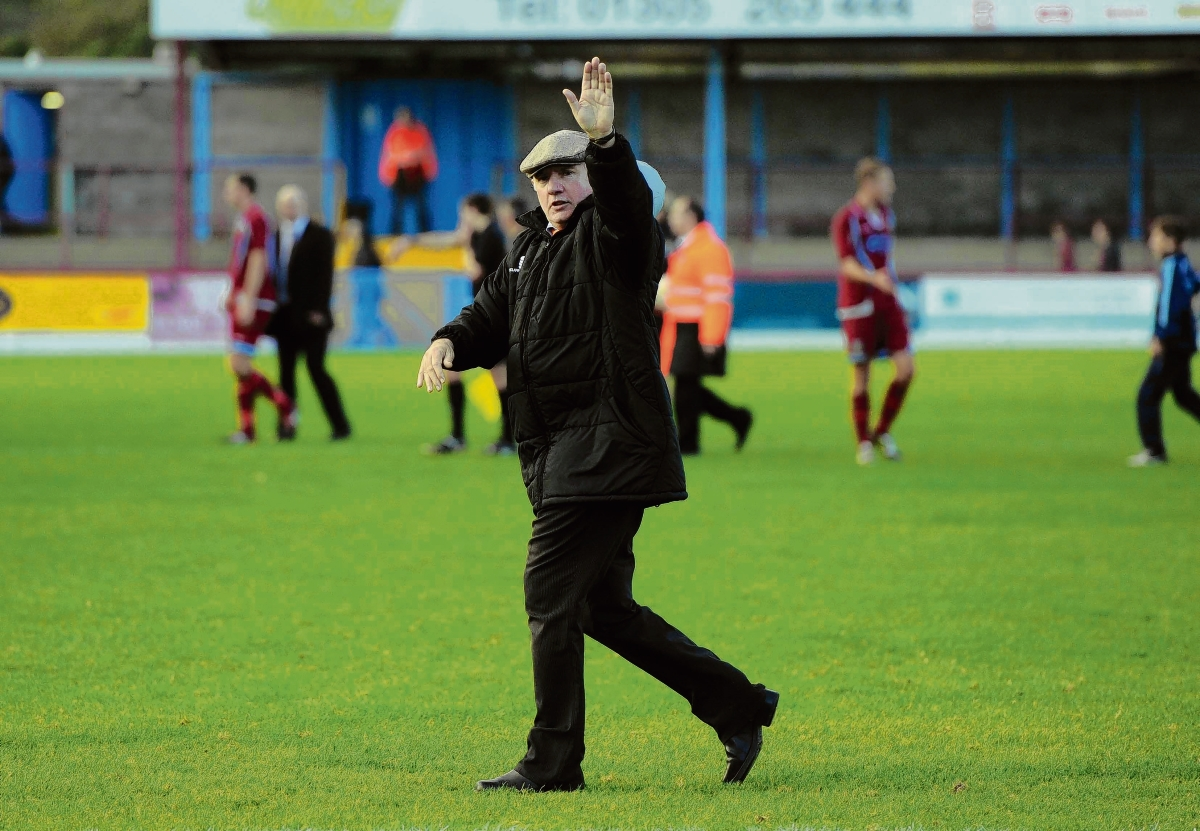 Braintree Town manager Alan Devonshire. Picture NEIL DADY