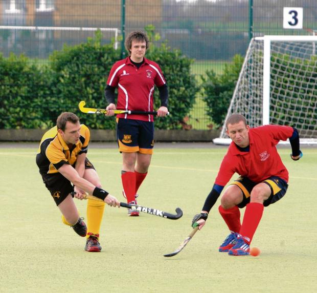 Witham Hockey Club captain Richard Marshall. Picture: ADRIAN RUSHTON