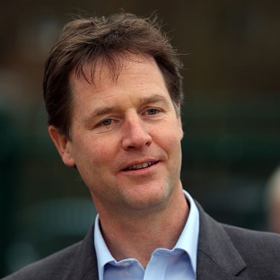 Nick Clegg said if a pact was formed with Labour, the Lib Dems would set out to restrain it from spending too much in government