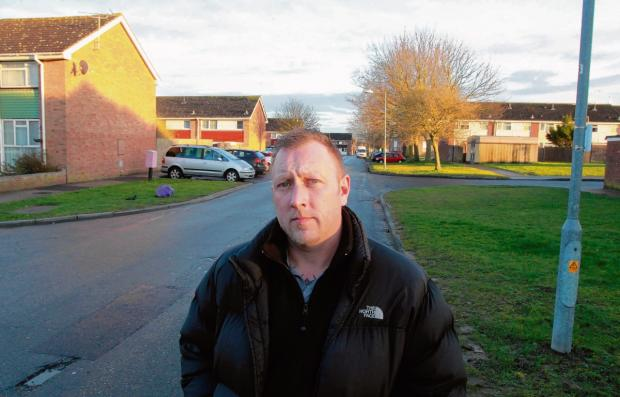 Witham dad warns of child accosting on estate