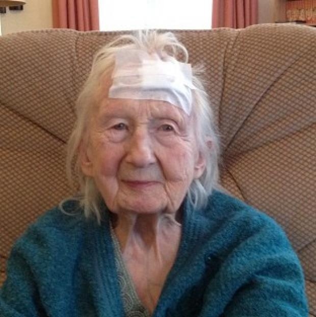 Braintree and Witham Times: Connie Hallford, who was badly beaten when three masked men burst into her home (Suffolk Constabulary/PA)