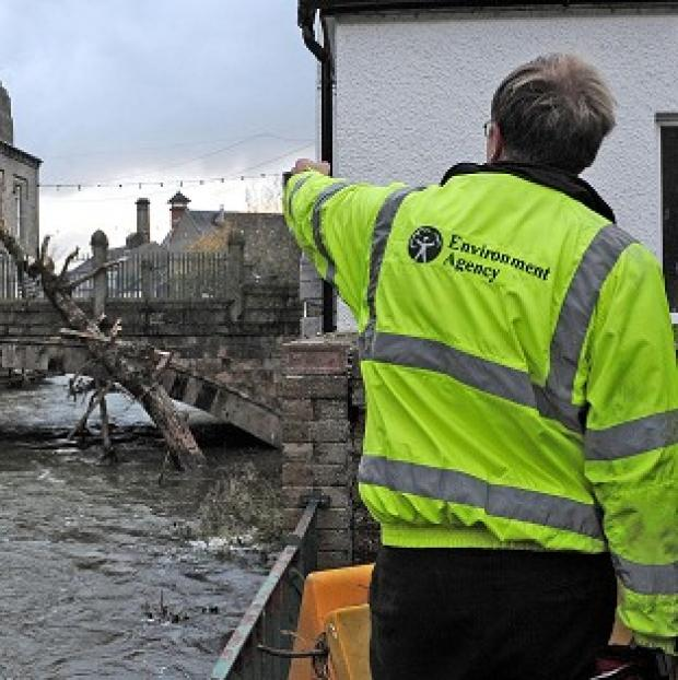 Braintree and Witham Times: The Environment Agency has announced that any redundancies have been suspended after recent flooding